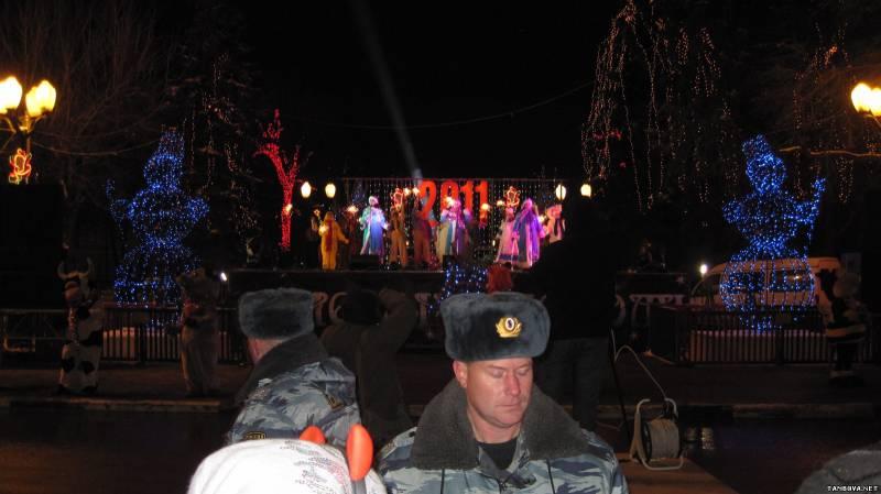 Мероприятия в тамбове на новый год